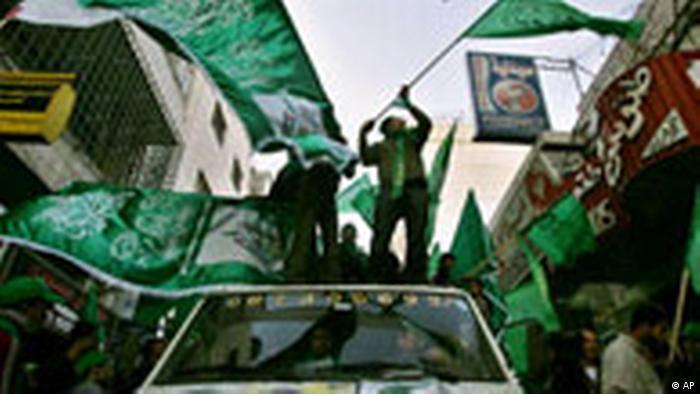 Jahresrückblick Januar 2006 Hamas Sieg Palästina (AP)