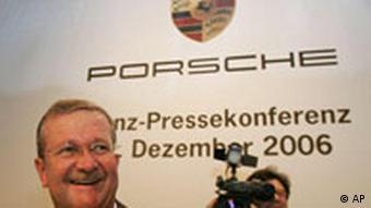 Bilanz-Pressekonferenz bei Porsche