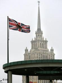 Russland Botschaft von Großbritannien in Moskau Fall Alexander Litwinenko