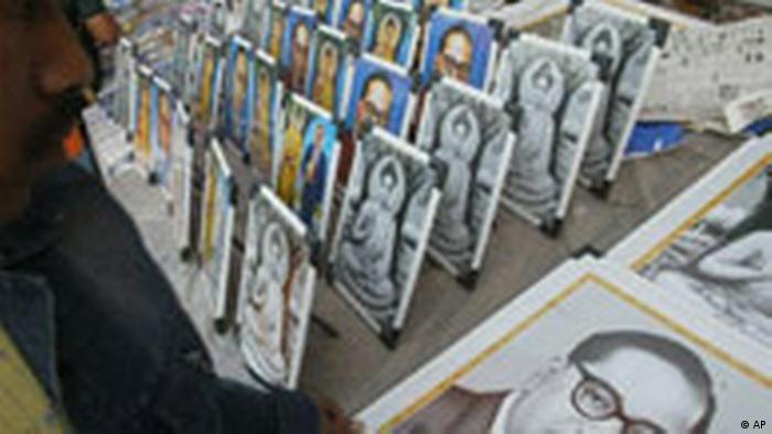 50. Todestag Dr. Ambedkar / Indien (AP)