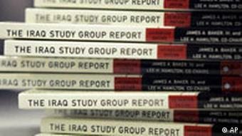 USA Irak Bücher James Baker Report