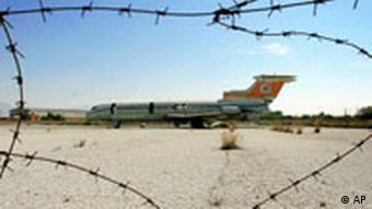 Türkei EU Flugzeug Wrack auf Zypern