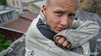 UNICEF, Ein Strassenkind in der Ukraine
