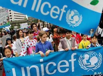 联合国儿童基金会组织活动,反对雇佣童工
