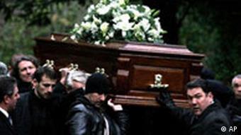 Großbritannien Fall Alexander Litwinenko Beerdigung London Sarg