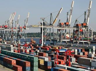 Порт в Гамбурге