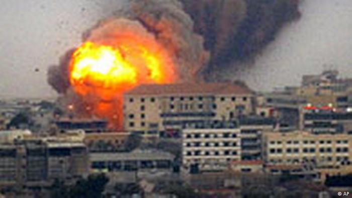 Jahresrückblick August 2006 Libanon Krieg (AP)