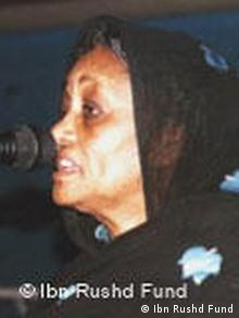 Fatima Ahmed Ibrahim erhält Ibn Rushd-Preis in Berlin