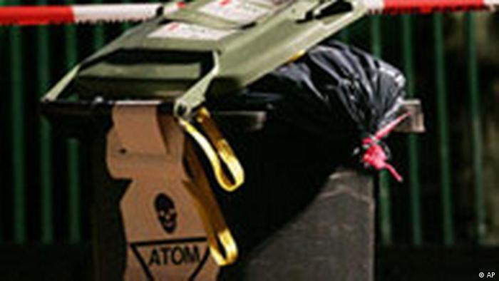 Plutonium in einem Mülleimer, Fall Litwinenko - Kowtun (AP)