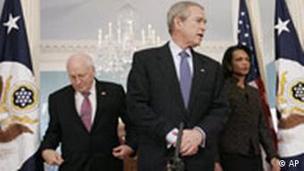 Bush im US-Aussenministerium