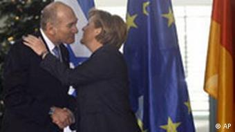 Merkel empfängt Olmert