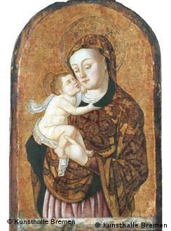 """""""Madonna con niño"""", de Bartolomeo Vivarini, restituido a sus legítimos propietarios."""
