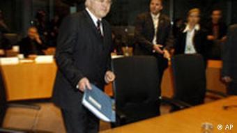 Deutschland BND Ausschuss Frank-Walter Steinmeier