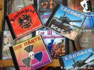 Outlawed far-right CDs