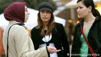 Islamische Frauen (dpa)
