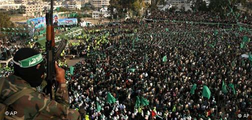 Hamas Demonstration in Gaza
