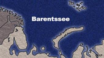 Karte Barentssee