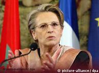 Michele Alliot-Marie: lista evidentemente manipulada.