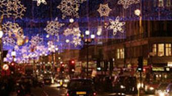Одна из центральных улиц Лондона
