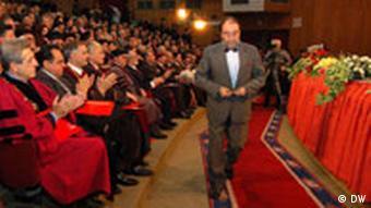 Präsident des mazedonischen Parlament Ljubisa Georgievski in Tetovo