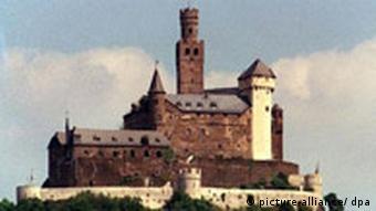 Deutschland Marksburg am Rhein bei Braubach