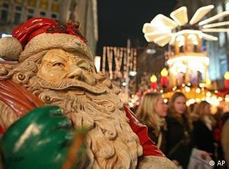 O Natal está em toda parte em dezembro na Alemanha
