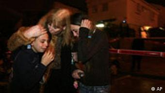 Israel palästinensischer Raketenangriff auf Sderot