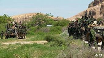 Somalia Krieg Regierungstruppen in Burhakaba (AP)