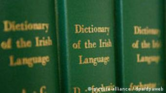 Irish lanugage dictionarys