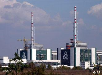 The Kozloduy nuclear power plant 240 kilometers north of the Bulgarian capital Sofia
