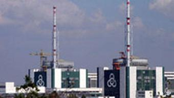 A general view of Bulgaria's only nuclear power plant in Kozloduy some 240 km (150 miles) north of the Bulgarian capital Sofia, Monday, Dec. 4, 2006. As a part of the Balkan state's treaty to join the European Union, Bulgaria will shut down two of its four operational reactors, number 3 and 4 of 440 megawatts each on December, 31. (AP Photo/Petar Petrov)