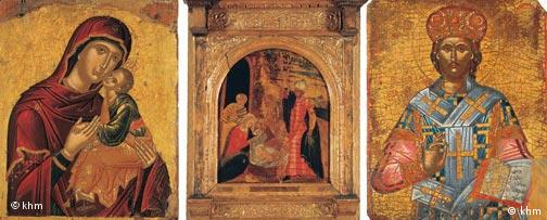 Griechische Ikonenmalerei, Quelle: Kunsthistorisches Museum Wien