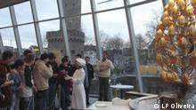 Schokoladenmuseum Köln - Schokoladebrunnen