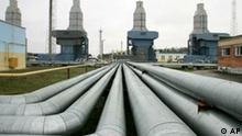 Weißrussland Gas Konflikt mit Gazprom Russland Pipeline Kompressorstation