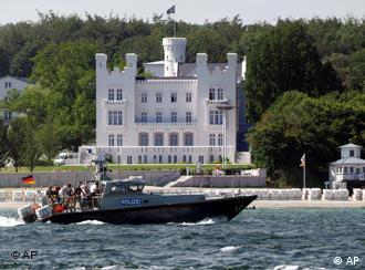 The Grand Hotel Kempinski in Heiligendamm will be surrounded by security when the world's leaders arrive