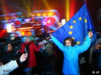 Both Romania and Bulgaria are enthusiastic about being in the EU