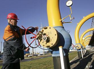 Gas-Kompressorstation in Weißrussland (Foto: AP)