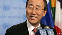 UN Generalsekretär Ban Ki Moon in New York