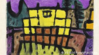 Yellow house I by Paul Klee