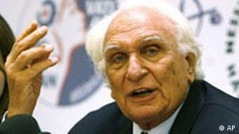 Italien Irak Marco Pannella in Hungerstreik
