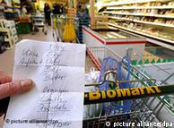 琳琅满目的德国绿色超市