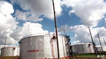 Нефтепровод в Мозыре