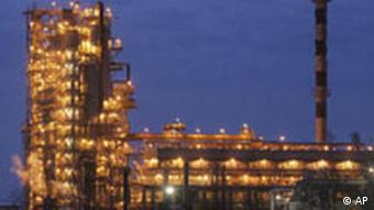 Oil-refining plant located in Belarus's town of Mozyr, some 300 km south-east of Minsk