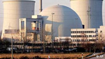 Deutschland Kernkraftwerk Biblis