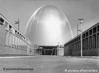 Germany's first nuclear reactor: The Atomic Egg in Garching