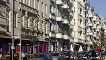 Вид одной из берлинских улиц