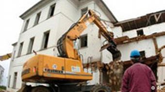 BdT Deutschland Heiligendamm Zarenvilla wird abgerissen