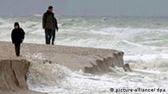 Sturm am Meer. Quelle: ap