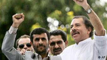 دانیل اورتگا، رییسجمهور نیکاراگوئه یکی از متحدان ایران در منطقه آمریکای لاتین به شمار میآید