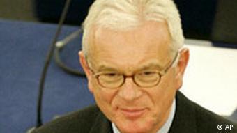EU Deutschland Hans Gert Pöttering Europaparlament Präsident